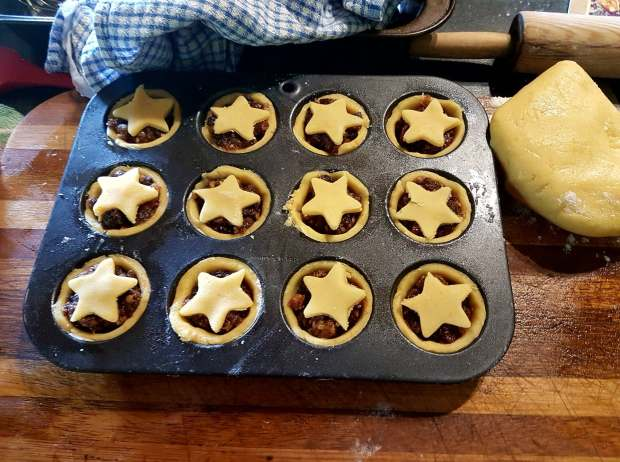 tarts before baking